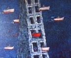 """<h5>Ivan Listeš</h5><p>""""Prolaz"""" Akril i ulje na platnu, 110 x 90 cm        Cijena: 7.800,00 Kn</p>"""