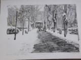 <h5>M. Boras</h5><p>Zrinjevac, 35x50cm - litografija Cijena: 1.900 kn</p>