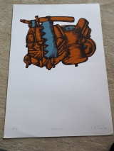 <h5>I.Antolčić</h5><p>Korablja,70x50 cm Cijena: 2.600 kn</p>