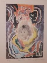 <h5>M.Boras</h5><p>Veronikin rubac, 70x50 cm, litografija Cijena: 1.900 kn</p>
